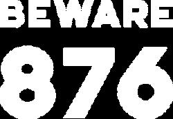 Beware 876 Logo